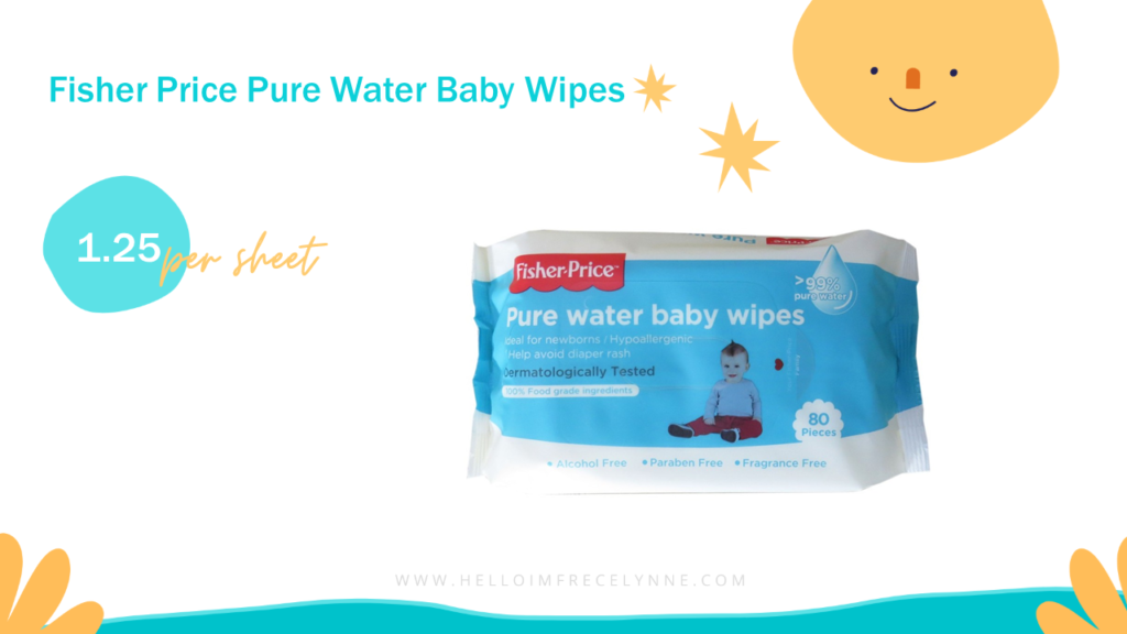 Fisher Price Pure Water Baby Wipes