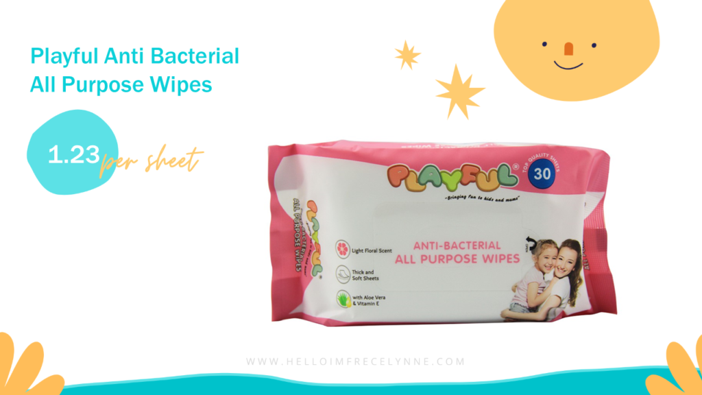 Playful Anti Bacterial All Purpose Wipes