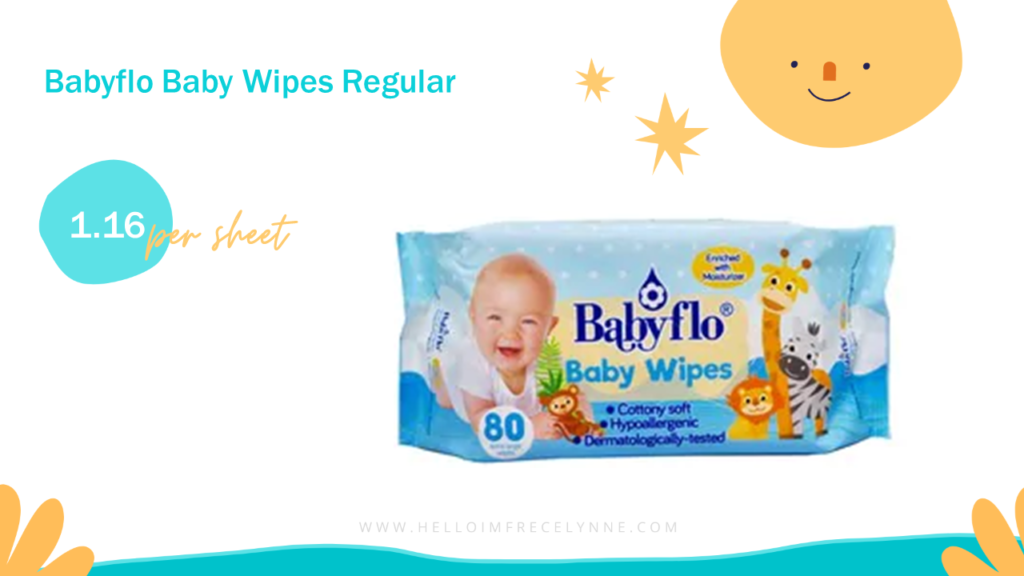 Babyflo Baby Wipes Regular
