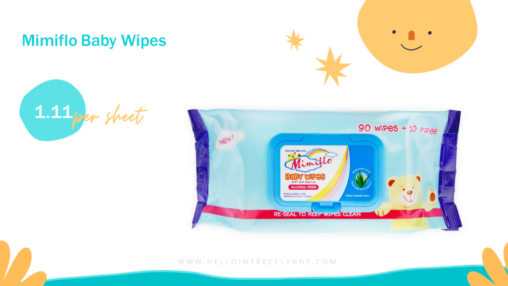 Mimiflo® Baby Wipes