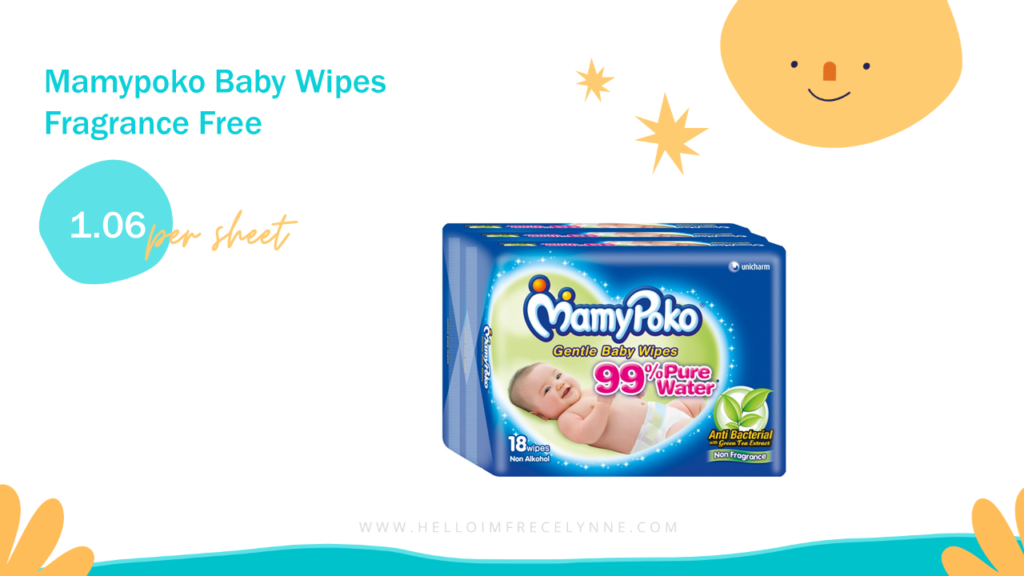 Mamypoko Baby Wipes Fragrance Free