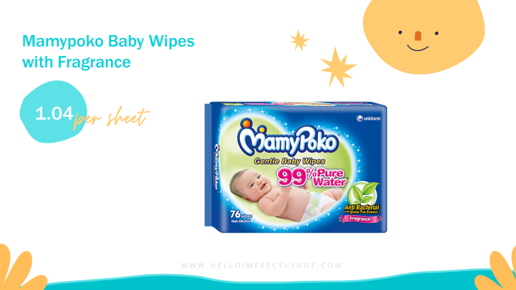 Mamypoko Baby Wipes with Fragrance