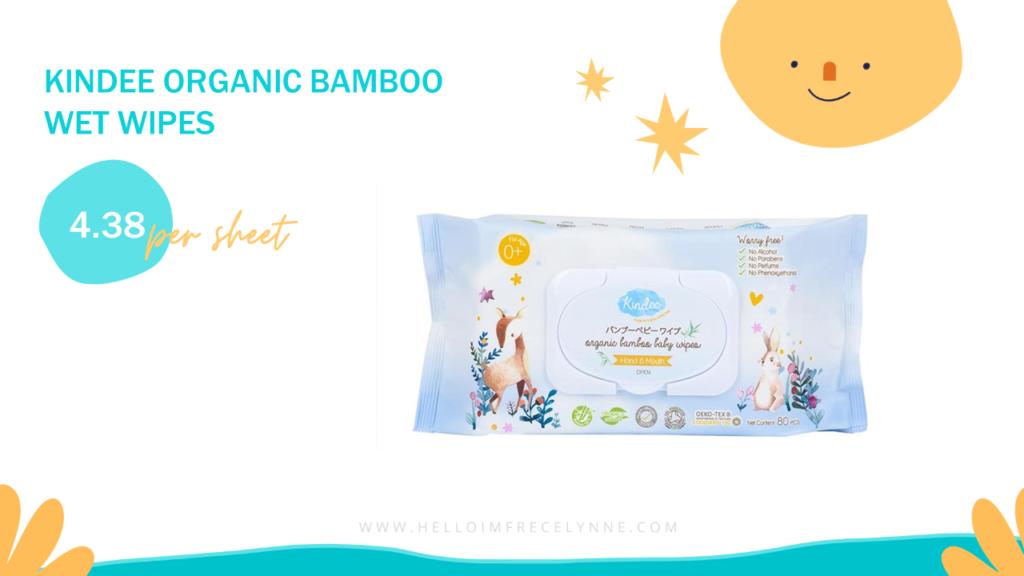 Kindee Organic Bamboo Wet Wipes