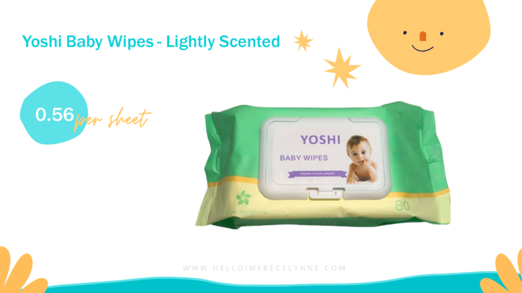 Yoshi Baby Wipes - Lightly Scented