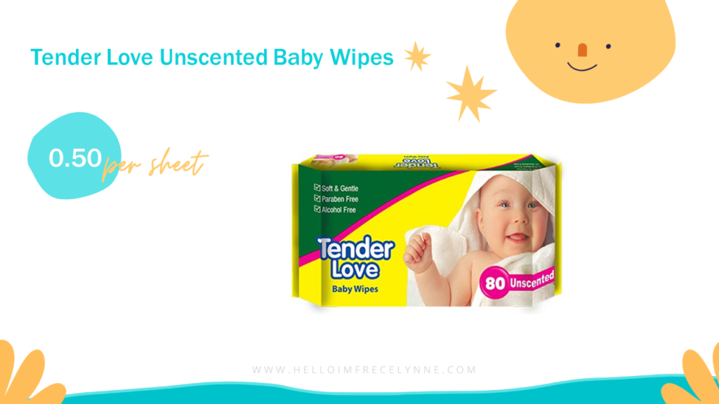 Tender Love Unscented Baby Wipes